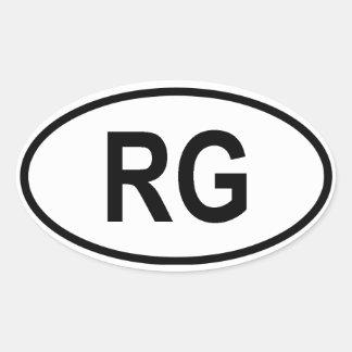 "Guinea ""RG"" Stickers"