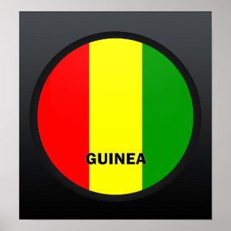Guinea Roundel quality Flag Poster