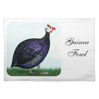Guinea Royal Purple and Sky Placemat