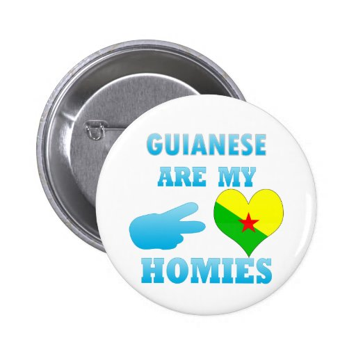 Guineans are my Homies Pins