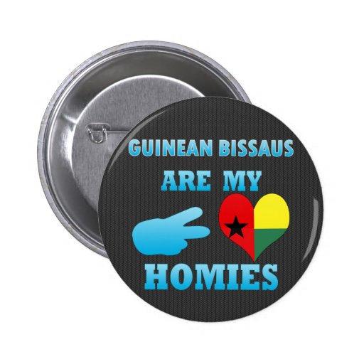 Guineans are my Homies Button