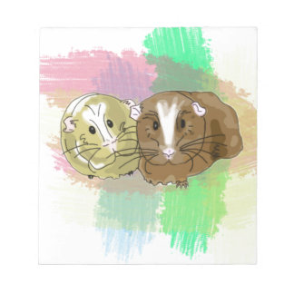 Guineapig Buddies Design Note Pad