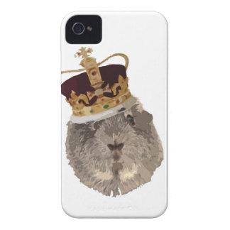 Guineapig in a crown iPhone 4 Case-Mate case
