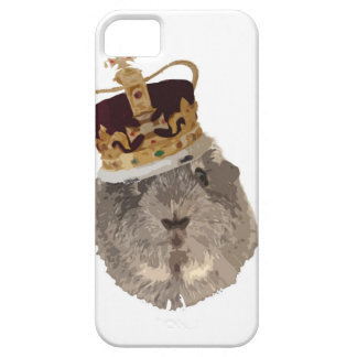 Guineapig in a crown iPhone SE/5/5s case