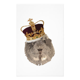 Guineapig in a crown stationery