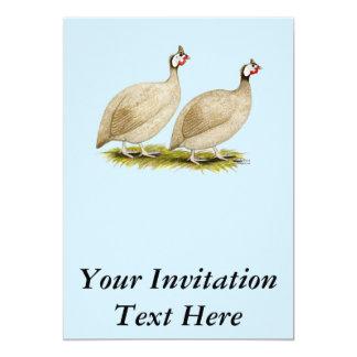 Guineas Buff Dundotte Fowl Card