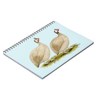 Guineas Buff Dundotte Fowl Notebook