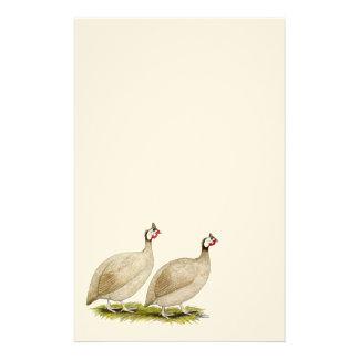 Guineas Buff Dundotte Fowl Stationery