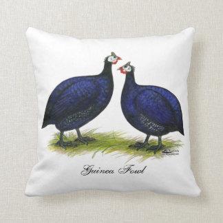 Guineas Royal Purple Pair Throw Pillow