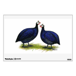 Guineas Royal Purple Pair Wall Sticker