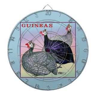 Guineas Three Fowl Dartboard