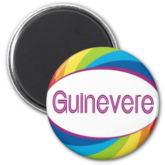 Guinevere 2 Inch Round Magnet