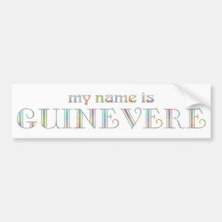 Guinevere Car Bumper Sticker