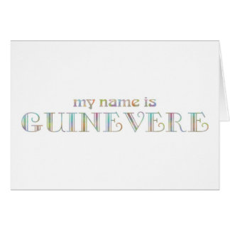 Guinevere Card