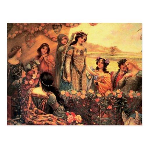 Guinevere en Camelot Tarjetas Postales