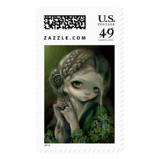 """""""Guinevere Had Green Eyes"""" Stamps"""