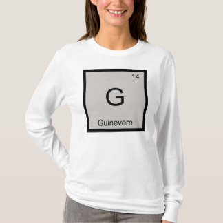 Guinevere Name Chemistry Element Periodic Table T-Shirt