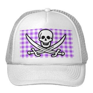 Guinga a cuadros púrpura Rogelio alegre Gorras De Camionero