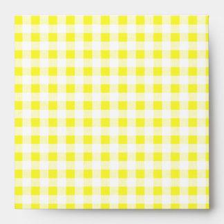 Guinga amarilla brillante sobres