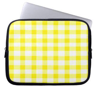 Guinga amarilla mangas computadora
