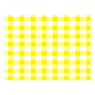 Guinga amarilla tarjetas postales
