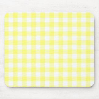 Guinga amarillo claro mouse pad