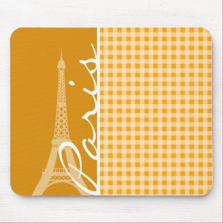 Guinga anaranjada ambarina; París Tapete De Ratón