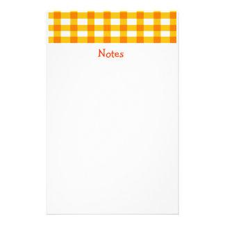 Guinga anaranjada papelería de diseño