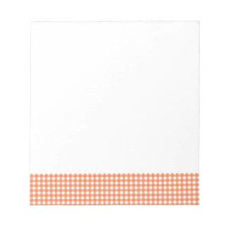 Guinga anaranjada y blanca bloc