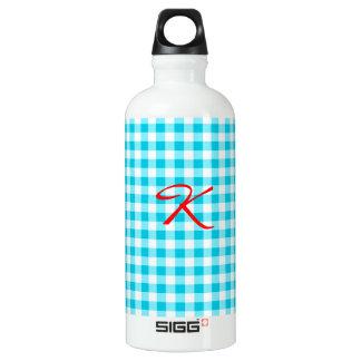 Guinga azul botella de agua