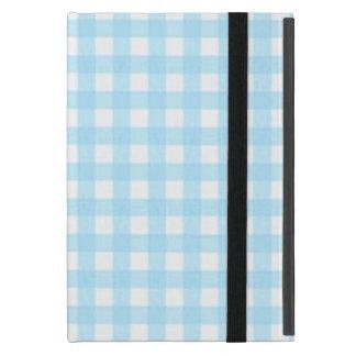 Guinga azul encantadora iPad mini coberturas