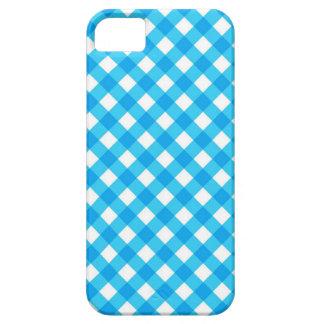 Guinga azul iPhone 5 fundas