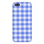 Guinga azul iPhone 5 cárcasa