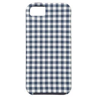 Guinga azul iPhone 5 carcasas
