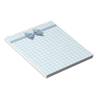 Guinga azul libretas para notas