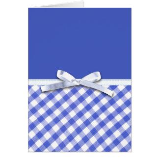 Guinga azul marino con el gráfico blanco del arco  felicitacion