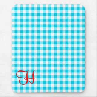 Guinga azul mouse pads