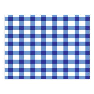 Guinga azul tarjeta postal