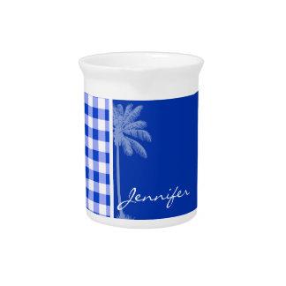 Guinga azul tropical jarra para bebida