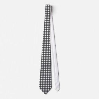 Guinga blanco y negro corbatas