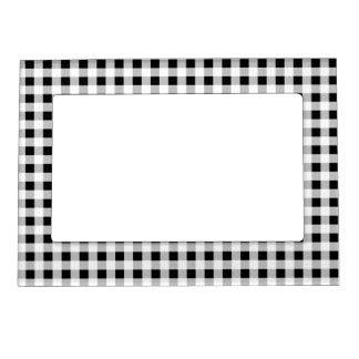 Guinga blanco y negro marcos magnéticos