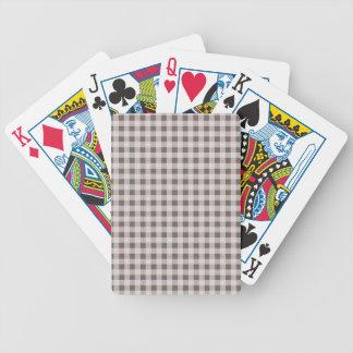 Guinga de color topo profunda baraja de cartas