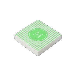 Guinga de la verde lima y del blanco su monograma