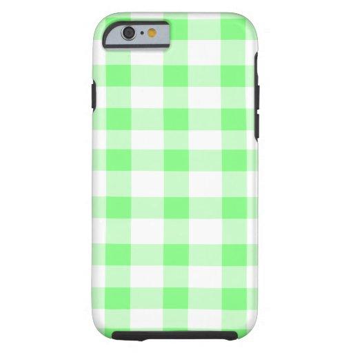 Guinga de la verde menta funda de iPhone 6 tough