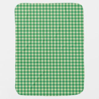 Guinga de la verde menta mantitas para bebé