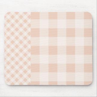 Guinga de lino beige mousepad