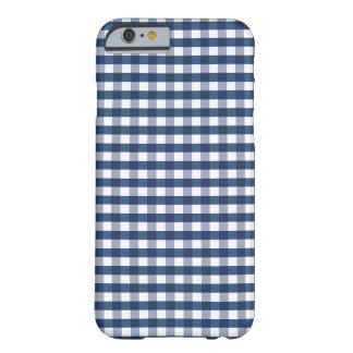 Guinga de los azules marinos funda de iPhone 6 barely there