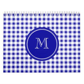 Guinga de los azules marinos y del blanco, su calendarios