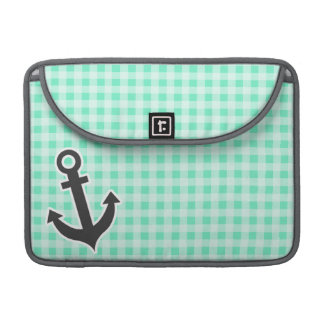 Guinga del Aquamarine; Ancla náutica Funda Macbook Pro