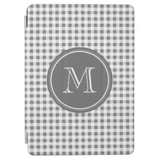 Guinga del gris y del blanco de carbón de leña, su cover de iPad air
